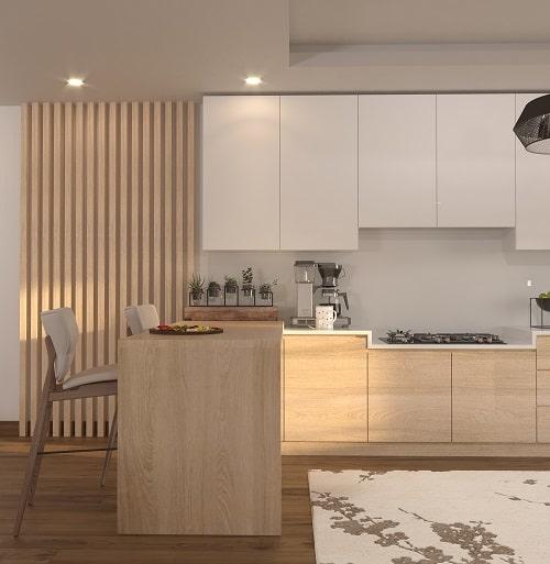 بخشی از فضاهای آشپزخانه