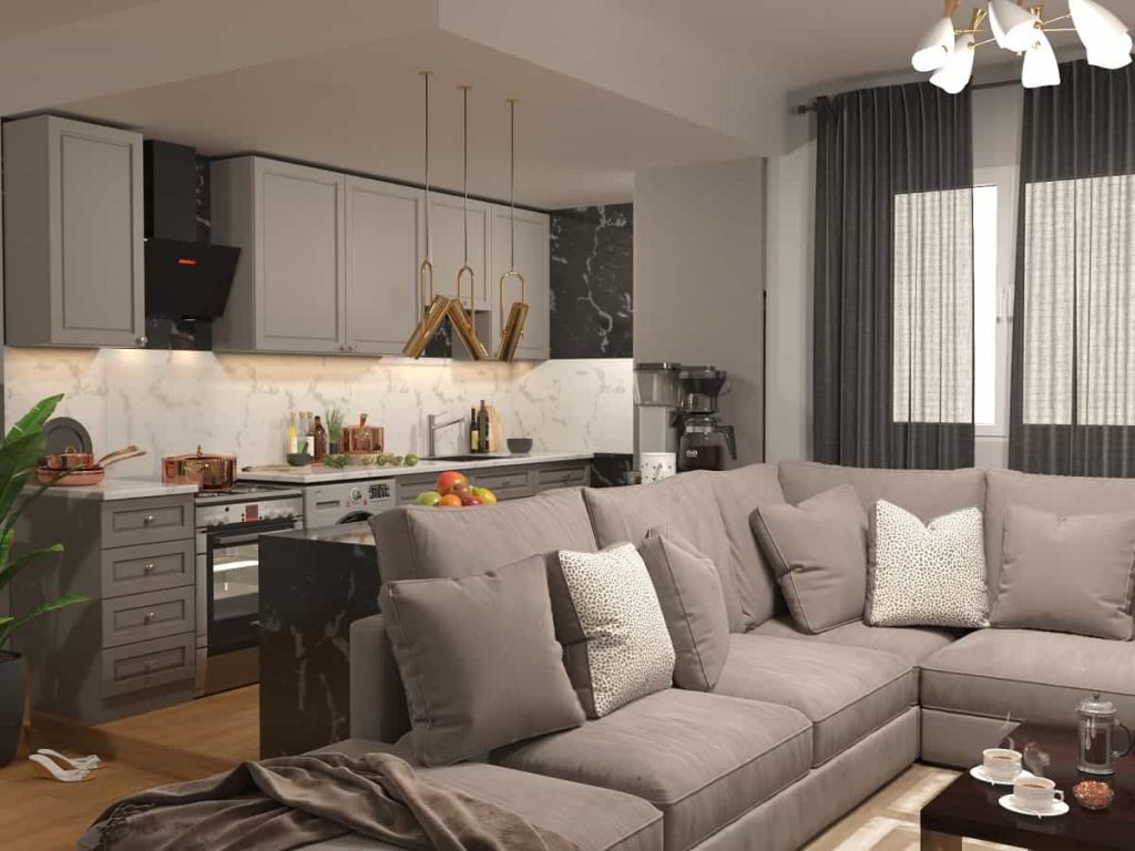 نمونه واقعی از خانه ای به سبک مدرن