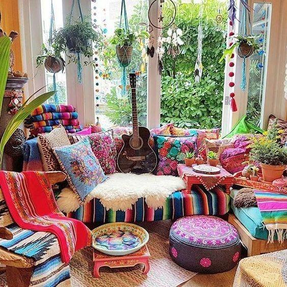 سبک بوهمیان در دیزاین خانه